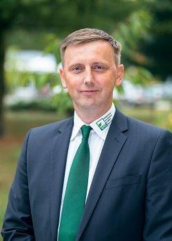 Porträt von Herrn Jörke